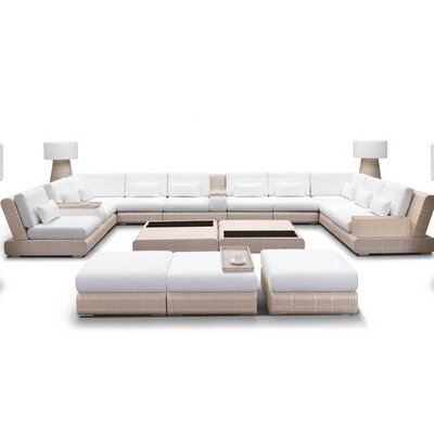 100 Essentials Sumba 16 Piece Seating Group
