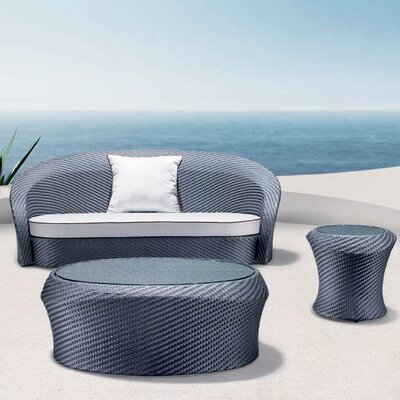 100 Essentials Eclipse 3 Piece Seating Group