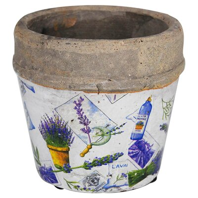 100 Essentials Flower Patchwork Pot