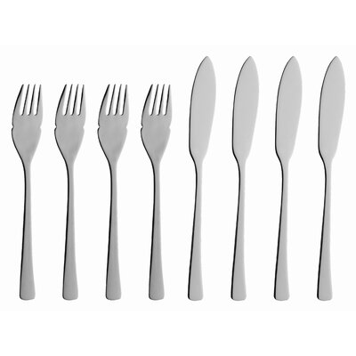 solex Karina 8 Piece Fish Flatware Set