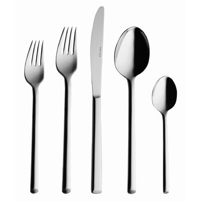 solex Laura 5 Piece Flatware Dinner Flatware Set