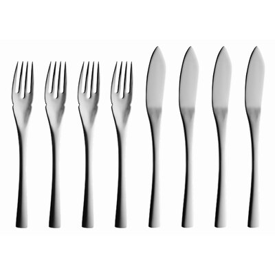 solex Sophia 8 Piece Fish Flatware Set