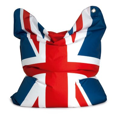Sitting Bull Fashion Bull God Save the Queen Bean Bag Lounger