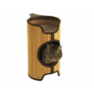 Natural Bamboo Radiator Cat Bed Wayfair Uk