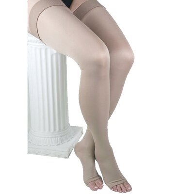 ITA-MED Co Microfiber Unisex Thigh High-Compression 25-35 mmHg
