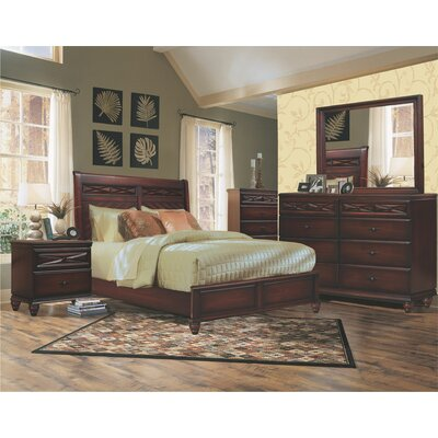 Wood Sleigh Bedroom Set | Wayfair