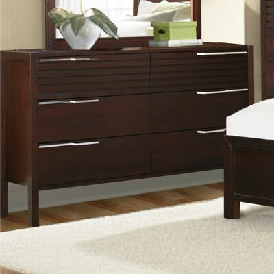 Brazil Furniture Group Florida 6 Drawer Dresser
