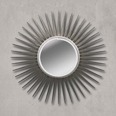 Sunburst Round Mirror