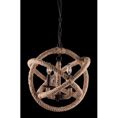 Zuo Era Caledonite 3 Light Pendant