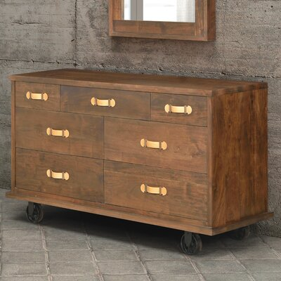 Zuo Era Oaktown 7 Drawer Dresser