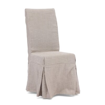 Dog Patch Linen Slipcovered Chair