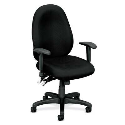 Basyx by HON High Performance Mid-Back Fabric Task Chair