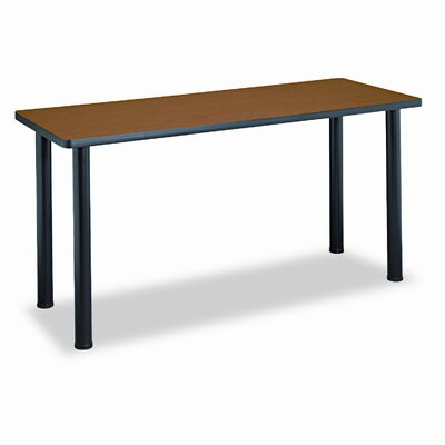 Basyx by HON Rectangular Training Table Top, 60w x 24d, Bourbon Cherry