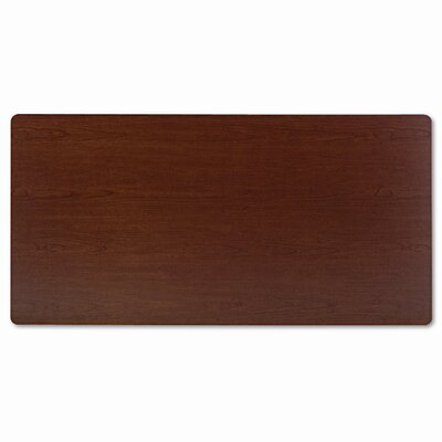 Basyx by HON Rectangular Training Table Top, 60w x 30d, Bourbon Cherry