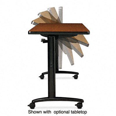 Basyx by HON Folding-Top Table Base with Casters