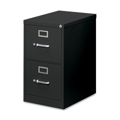 Basyx by HON H410 Series Two-Drawer Locking Vertical File
