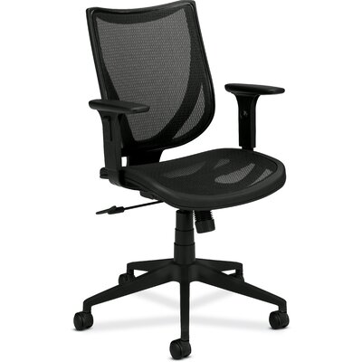 Basyx by HON Mid-back Mesh Chair with Arms