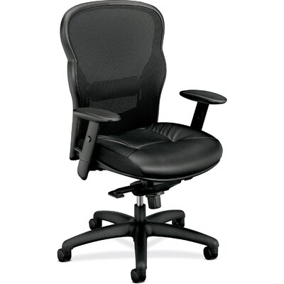 Basyx by HON VL700 Series High-back Mesh Executive Chair with Arms