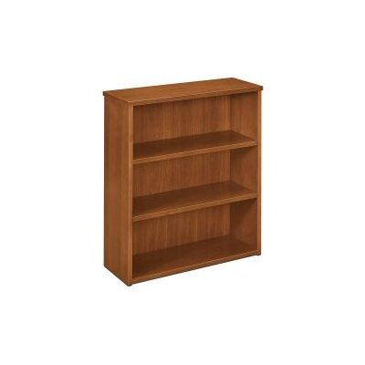 Basyx by HON BW Veneer Three Shelf Bookcase
