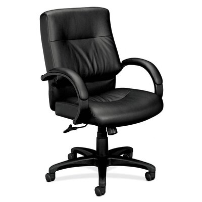 Basyx by HON Mid-Back Leather Managerial Chair