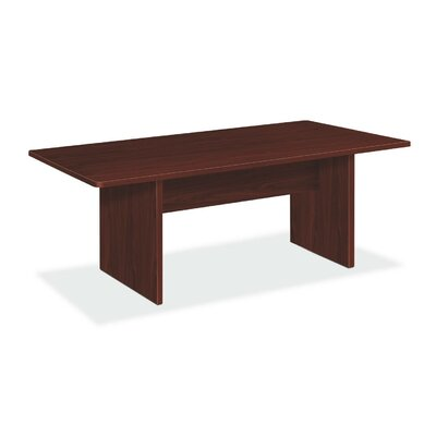 Basyx by HON Conference Table with Slab Base