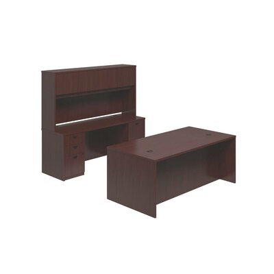 Basyx by HON BL Series Standard Desk Office Suite