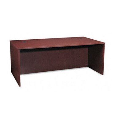 "Basyx by HON BL Laminate Series Rectangular Desk Shell, 77"" Wide"