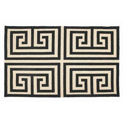 Trina Turk Residential Greek Key Black Rug
