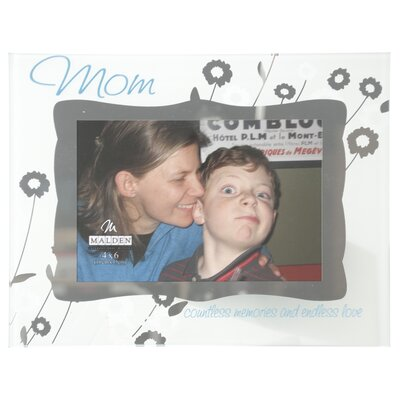 Malden Mom Ornate Glass Picture Frame
