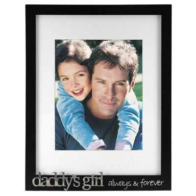 Malden Daddy's Girl Always and Forever Picture Frame
