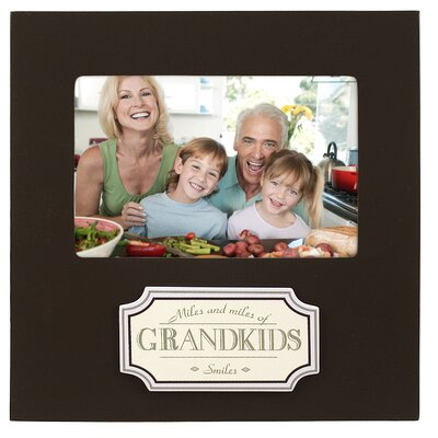 Malden Grandkids Plaque Picture Frame