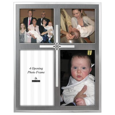 Malden Cross 4-Opening Picture Frame