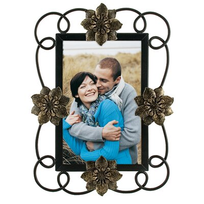 Swirl Flower Picture Frame
