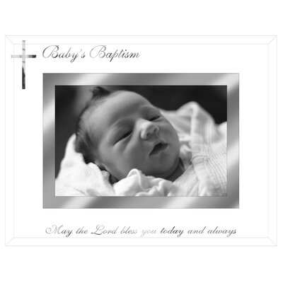 Baby Baptism Picture Frame