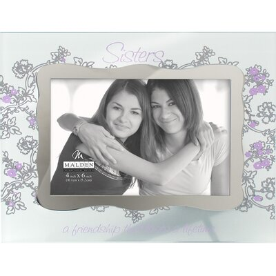 Malden Ornate Sisters Glass Picture Frame