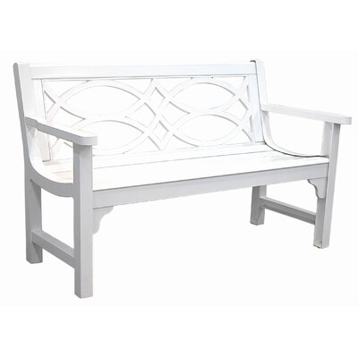 Innova Hearth and Home Brentwood Cast Aluminum Park Bench