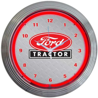 Neonetics Ford Tractor Neon Clock