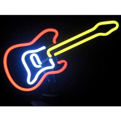 Neonetics Electric Guitar Neon Sculpture