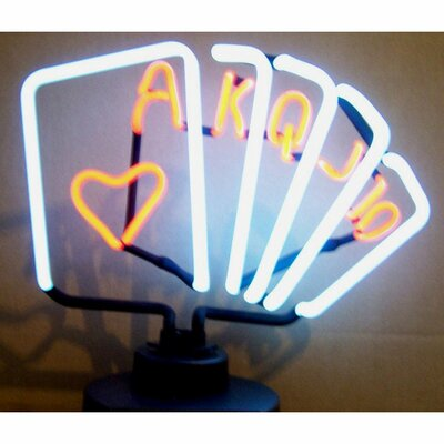 Neonetics Bar & Game Room Royal Flush Poker Neon Sign