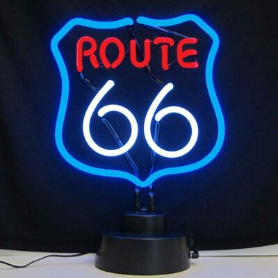 Neonetics Business Signs Route 66 Neon Sign & Reviews ...