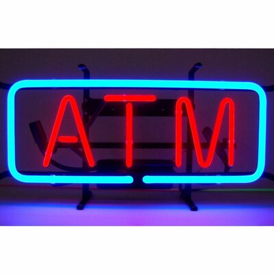 Neonetics Business Signs ATM Neon Sign