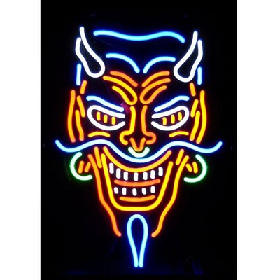 Neonetics Devil Neon Sign