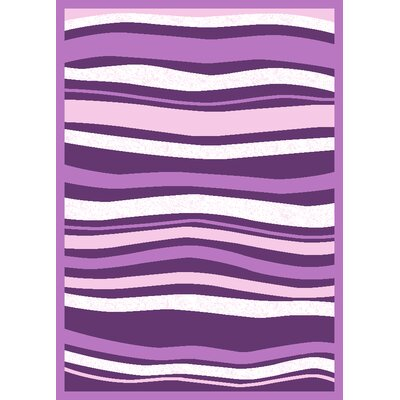 Infinity Home Harmony Purple Stripes Rug