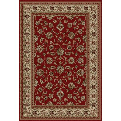 Barclay Red Sarouk Border Rug