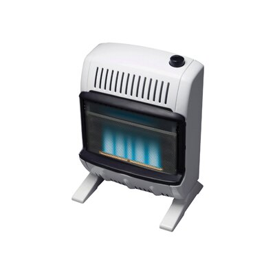 Mr. Heater Vent Free 10,000 BTU Radiant Wall/Floor Liquid Propane Space Heater