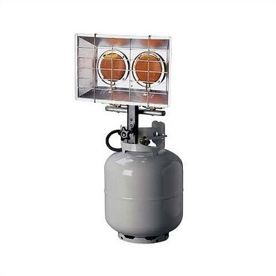 Mr. Heater 8,000-28,000 Double Tank-Top Propane Heater