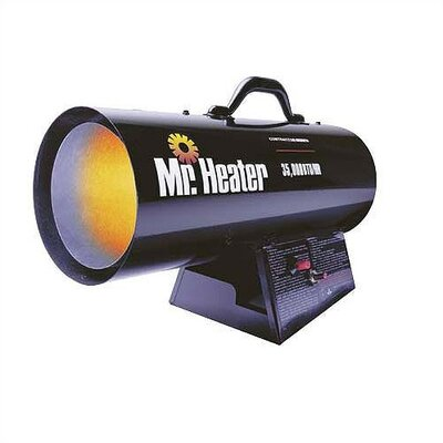 Mr. Heater Contractor Series 35,000 BTU Forced Air Utility Propane Space Heater