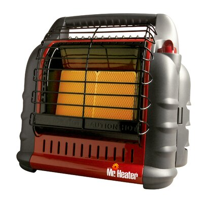 Mr. Heater Big Buddy 18,000 BTU Radiant Compact Propane Space Heater