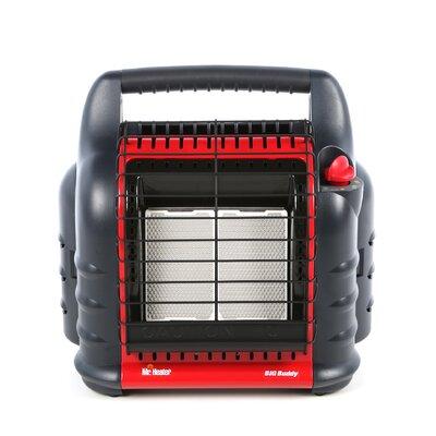 Mr. Heater Big Buddy 18,000 BTU Radiant Compact Propane Space Heater