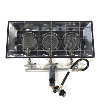 Mr heater 45 000 btu radiant tank top propane space heater reviews wayfair - Small propane space heater collection ...